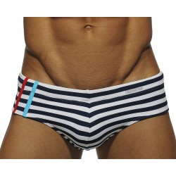Slip de bain Addicted Marin, Sailor Stripe