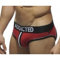 Jockbrief Addicted Rouge, Double Piping Bottomless
