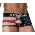 Shorty Gigo rouge, USA