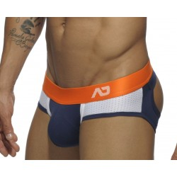 Jockbrief Addicted Bleu, Contrast Mesh