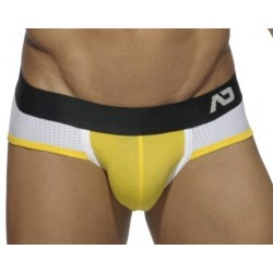 Jockbrief Addicted Jaune, Contrast Mesh