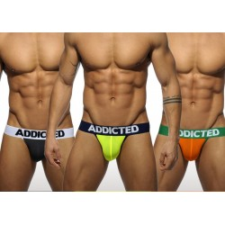 Pack de 3 Lights Jockstraps Addicted